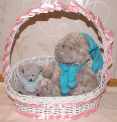 "Gift basket ""Happiness"", baskets"