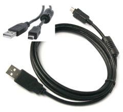 The usb cable for the camera Olympus CB-USB5,