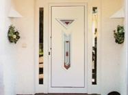 Дверь - выход на террасу с панелью Топаз