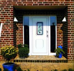 The door is entrance