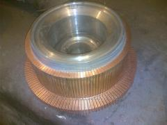 We realize accessories to electric motors miner