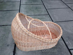 Carrying for the baby, a figurative basket for the