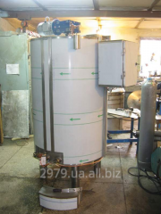 Capacity is 800 l for shampoos and creams