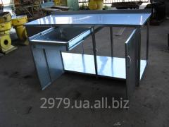 Стол металлический, вариант 2