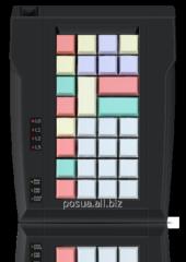 LPOS-II-032 keyboard of black color