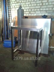 Стол металлический промышленный, вариант 2