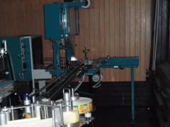 Automatic machine of group packaging of