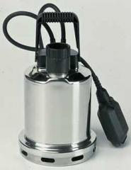Submersible pumps from stainless steel for pumping
