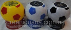 Night lamp projector Soccerball (black-white)