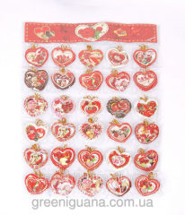 Cards for bouquets of flowers (a set of 240