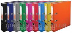 Folder segregator of 5 cm blue