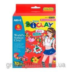 Plasticine 4 of the color Amos Woman of Fashion of