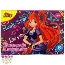 Plasticine 8 of colors 160 gr. Music Star