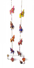 Suspension bracket with a hand bell Elephants