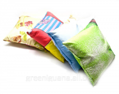 Small pillow with dry herbs of the Grass of a