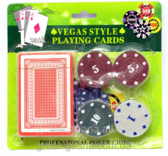 Poker set (20 counters)
