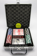Poker set in a case (2 packs of +100 counters)