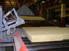 Линия по производству полужестких минераловатных