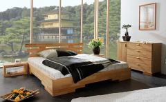Кровать деревянная двуспальная Sakura