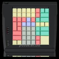 LPOS-II-64 keyboard of black color