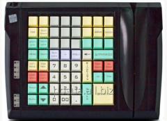 The LPOS-II-64 keyboard of black color with keys