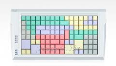 LPOS-II-128 keyboard of gray color