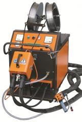 Metallizator arc wasp-hessler metallization