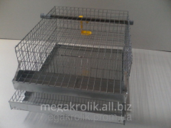 Cage for quails of KP