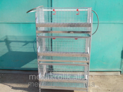 Cage for hens of KK-1-3