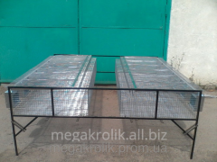 Cage for rabbits feeding single-tier KO-2