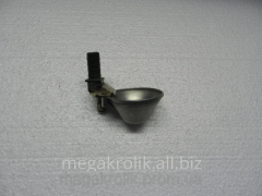 Microcup drinking bowl with a rod a round