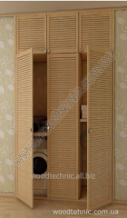 Louvered doors, furniture facades, shutters,