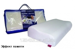 Pillow orthopedic of Memory foam