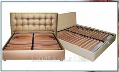 Framework bed with lamels