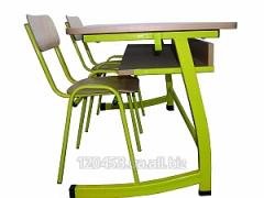 The school desk is preschool