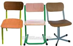 La silla escolar regulirovannyy