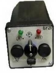 BU 12 Control unit of the analog regulator