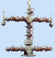Christmas tree for oil and gas the AF type