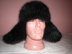 The cap is man's, fur mink No. 016M