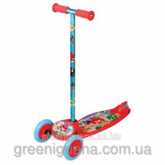 Angry birds scooter (3 wheel, 2 wheels ahead)