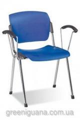 Chair Era arm plast chrome