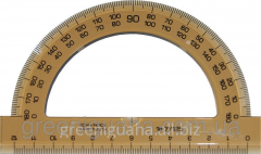 Protractor of plastic 180 degrees (To)
