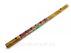 Flute bamboo with drawing