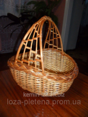 Weaving of baskets in Ukraine, the Gift Flower