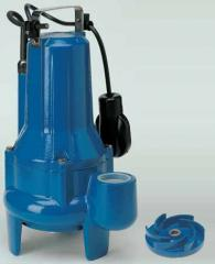 Submersible pump with the VORTEX driving wheel -