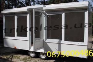 Autoshop trailer. Trade trailer.
