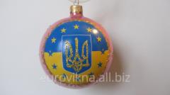 Christmas balls. Ukraine
