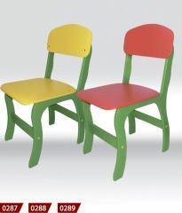 The chair is children's, children's
