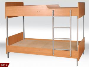 Bunk bed, furniture for hotels, a bed