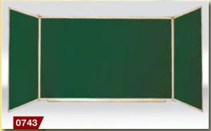 Magnetic classroom board, blackboard, cretaceous